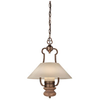 Minka-Lavery Abbott Place 1 Light Pendant in Classic Oak Patina 4208-290