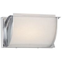 Minka-Lavery 421-77-L Arlington Brooke LED 9 inch Chrome Bath-Bar Lite Wall Light