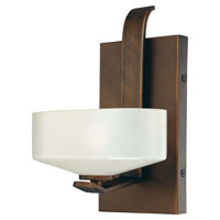Eclante 1 Light 7 inch Eclante Patina Bronze Bath Wall Light