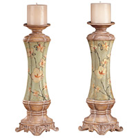 Signature Adalia Candle Holder, 2 Piece