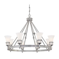 Minka-Lavery Federal Restoration 8 Light Chandelier in Chrome 4278-77