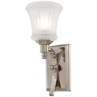 Minka-Lavery Hayvenhurst 1 Light Sconce in Polished Nickel 4301-613
