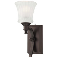 Minka-Lavery Hayvenhurst 1 Light Sconce in Copper Bronze Patina 4301-647