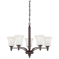 Minka-Lavery Hayvenhurst 5 Light Chandelier in Copper Bronze Patina 4305-647