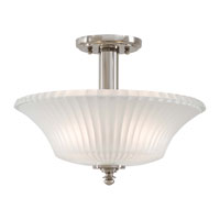 Minka-Lavery Hayvenhurst 2 Light Semi-flush in Polished Nickel 4307-613
