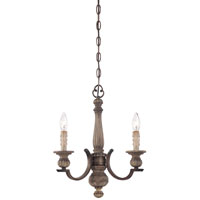 Minka-Lavery Regents Row 3 Light Mini Chandelier in Regents Patina 4313-299