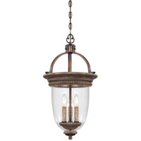 Regents Row 3 Light 13 inch Regents Patina Foyer Ceiling Light