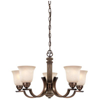 Minka-Lavery Regents Row 5 Light Chandelier in Regents Patina 4315-299 photo thumbnail