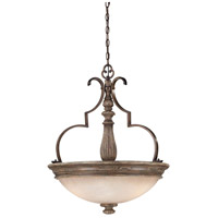 Minka-Lavery Regents Row 3 Light Pendant in Regents Patina 4317-299