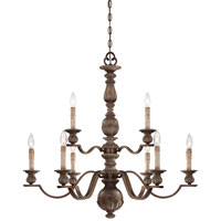 Minka-Lavery Regents Row 9 Light Chandelier in Regents Patina 4319-299