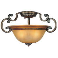 Minka-Lavery Brompton 3 Light Semi-flush in Brompton Bronze 4333-561