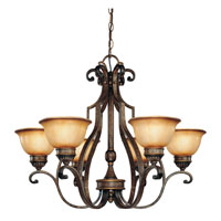 Minka-Lavery Brompton 6 Light Chandelier in Brompton Bronze 4336-561