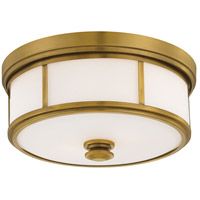 Harbour Point 2 Light 14 inch Liberty Gold Flush Mount Ceiling Light