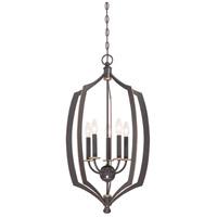 Minka-Lavery 4373-579 Middletown 5 Light 17 inch Downton Bronze/Gold Pendant Ceiling Light