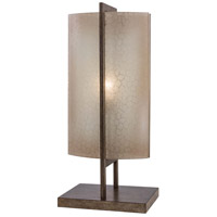 Minka-Lavery Clarte 1 Light Table Lamp in Patina Iron 4390-1-573