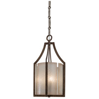 Clarte 3 Light 12 inch Patina Iron Pendant Ceiling Light
