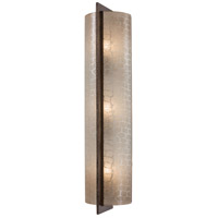 Clarte 3 Light 5 inch Patina Iron ADA Wall Sconce Wall Light