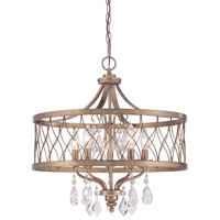 Minka Lavery West Liberty 5 Light Chandelier in Olympus Gold 4404-581
