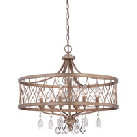 Minka Lavery West Liberty 6 Light Chandelier in Olympus Gold 4406-581