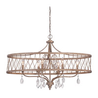 West Liberty 6 Light 36 inch Olympus Gold Island Light Ceiling Light