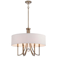 Minka Lavery Signature 6 Light Pendant in Malibu Gold 4426-569