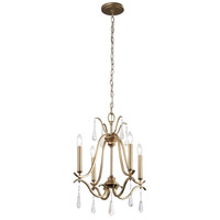 Minka-Lavery Laurel Estate 4 Light Chandelier in Brio Gold 4444-582