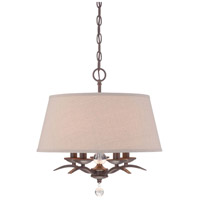Signature 5 Light 18 inch Aged Kinston Bronze Pendant Ceiling Light