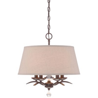 Minka Lavery Signature 5 Light Pendant in Kinston Bronze 4495-298