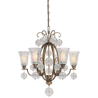 Minka-Lavery Terzetto 7 Light Chandelier in Terzetto Bronze 4507-292