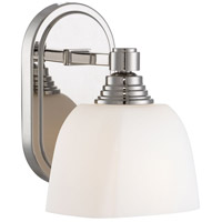 Signature 1 Light 6 inch Polished Nickel Bath Bar Wall Light