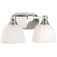 Minka-Lavery Signature 2 Light Bath in Polished Nickel 4522-613