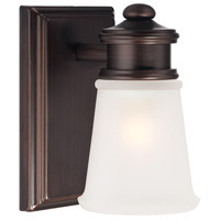 Minka-Lavery Signature 1 Light Bath in Dark Brushed Bronze 4531-267B
