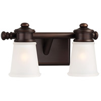 Minka-Lavery Signature 2 Light Bath in Dark Brushed Bronze 4532-267B