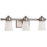 Signature 3 Light 24 inch Polished Nickel Bath Bar Wall Light