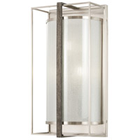 Minka-Lavery 4560-098 Tysons Gate 3 Light 9 inch Brushed Nickel with Shale Wood Wall Sconce Wall Light