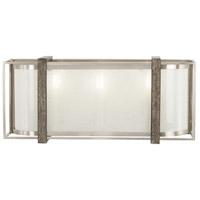 Minka-Lavery 4563-098 Tysons Gate 3 Light 16 inch Brushed Nickel with Shale Wood Bath Bar Wall Light