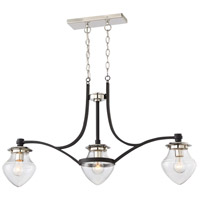 The Cape 3 Light 38 inch Island Light Ceiling Light