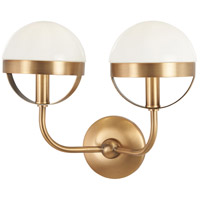 Minka-Lavery 4590-575 Tannehill 2 Light 15 inch Antique Noble Brass Wall Sconce Wall Light