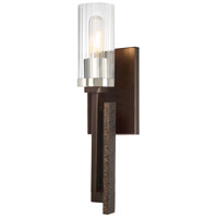 Minka-Lavery 4600-101 Maddox Roe 1 Light 5 inch Iron Ore with Gold Dust Wall Sconce Wall Light