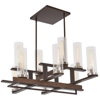 Minka-Lavery 4609-101 Maddox Roe 10 Light 17 inch Iron Ore/Gold Dust Highlight Chandelier Ceiling Light