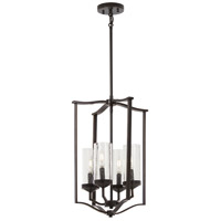 Minka-Lavery 4658-579 Elyton 4 Light 15 inch Downton Bronze/Gold Pendant Ceiling Light