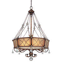 Minka-Lavery Aston Court 6 Light Pendant in Aston Court Bronze 4746-206