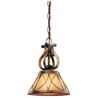Minka-Lavery Aston Court 1 Light Mini Pendant in Aston Court Bronze 4751-206
