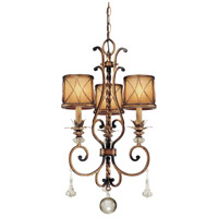 Minka-Lavery Aston Court 3 Light Chandelier in Aston Court Bronze 4753-206