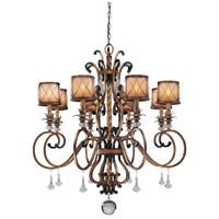 Aston Court 8 Light 38 inch Aston Court Bronze Chandelier Ceiling Light