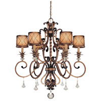 Minka-Lavery Aston Court 6 Light Chandelier in Aston Court Bronze 4757-206