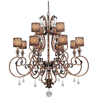 Aston Court 12 Light 52 inch Aston Court Bronze Chandelier Ceiling Light
