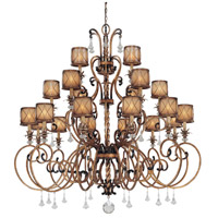 Aston Court 21 Light 59 inch Aston Court Bronze Chandelier Ceiling Light