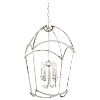 Minka-Lavery 4774-613 Jupiters Canopy 4 Light 17 inch Polished Nickel Pendant Ceiling Light