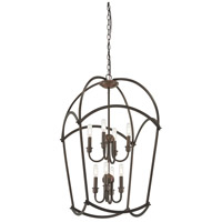 Minka-Lavery 4778-281 Jupiters Canopy 8 Light 20 inch Harvard Court Bronze Pendant Ceiling Light